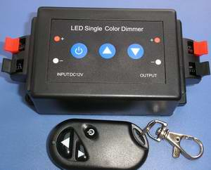 RF LED Single Color Dimmer Controller