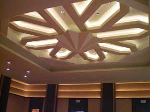 Led cove lamps for casino