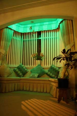 window green Led lamps