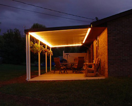 LED Patio Lighting Strip Lights Patio Lighting - Lighting for patio