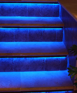 Blue Strips For Step Lighting White Led ...