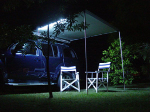 Led Lighted Camping Tent Outdoor With Light